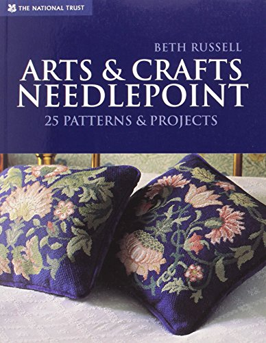 Arts & Crafts Needlepoint: 25 Patterns & Projects by Brand: National Trust