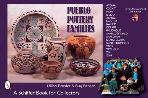Zia Pueblo Pottery - Pueblo Pottery Families: Acoma, Cochiti, Hopi, Isleta, Jemez, Laguna, Nambe, Picuris, Pojoaque, San Ildefonso, San Juan, Santa Clara, Santo Domingo, ... Zia, Zuni (Schiffer Book for Collectors)