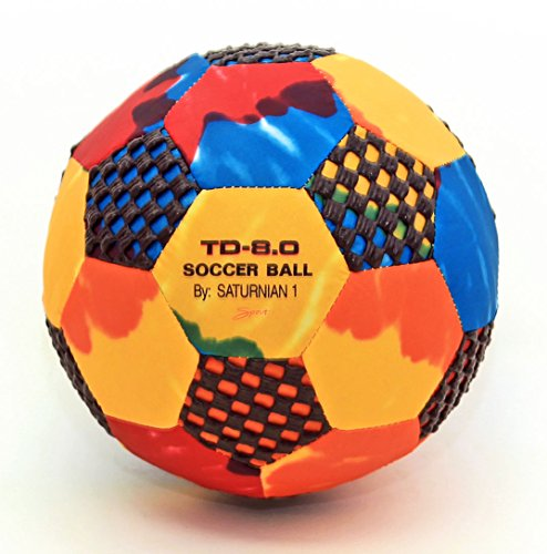 Fun Gripper (TD Tie-Dye Soccer Ball Size (4) 8.0 Inch (Perfect for Indoors) by:Saturnian I P.E. Supplier - Gripper Soccer Ball