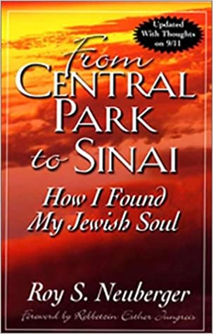 from central park to sinai how i found my jewish soul