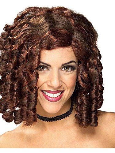 Women's Brown Banana Curl Wig - Banana Curl Wig