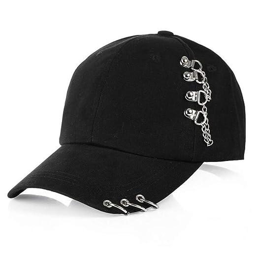 kyprx Gorra de Visera Sombreros de Paja para Mujer Sol Anillo de ...