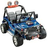 Power Wheels Hot Wheels Jeep Wrangler, Blue (12V)