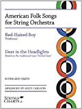 American Folk Songs for String Orchestra, Andrew Carlson, 1890490733