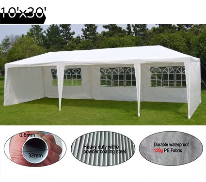 Amazon.com Quictent 10x30 Heavy Duty Outdoor Canopy Party Wedding Tent Gazebo Pavilion with 5 Walls Sports u0026 Outdoors  sc 1 st  Amazon.com & Amazon.com: Quictent 10x30 Heavy Duty Outdoor Canopy Party Wedding ...