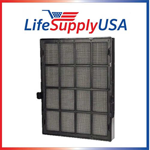 10 pcs True HEPA Replacement Filter Designed To Fit Winix 114190 Size 21 by Vacuum Savings