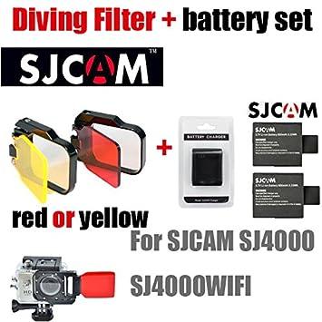 MU caliente SJCAM SJ6000 SJ5000 SJ4000 Baterías Batería + ...