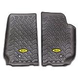 Bestop 51500-01 Front Pair of Floor Mats for Wrangler Unlimited 07-13
