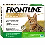 Frontline Gold for Cats 3 lbs and Over Green (6 Monthly Doses)