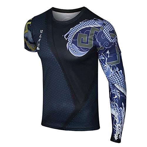Fashion Game Shirt Short Sleeves Elastic Sport Shirt Compression Muscle Tshirt -