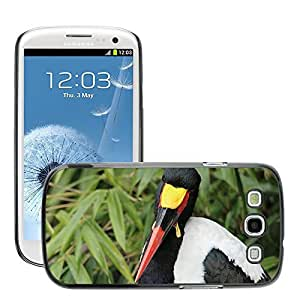 Super Stella Slim PC Hard Case Cover Skin Armor Shell Protection // M00148116 Stork Stork Type Saddle Stork Bird // Samsung Galaxy S3 S III SIII i9300