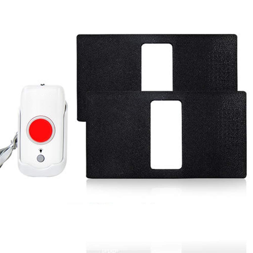 AUED Kit inalámbrico de Alarma de Emergencia, Timbre Remoto ...
