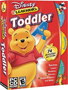 Toddler Bundle (Pooh Toddler, Mickey Toddler, and Book of Pooh)