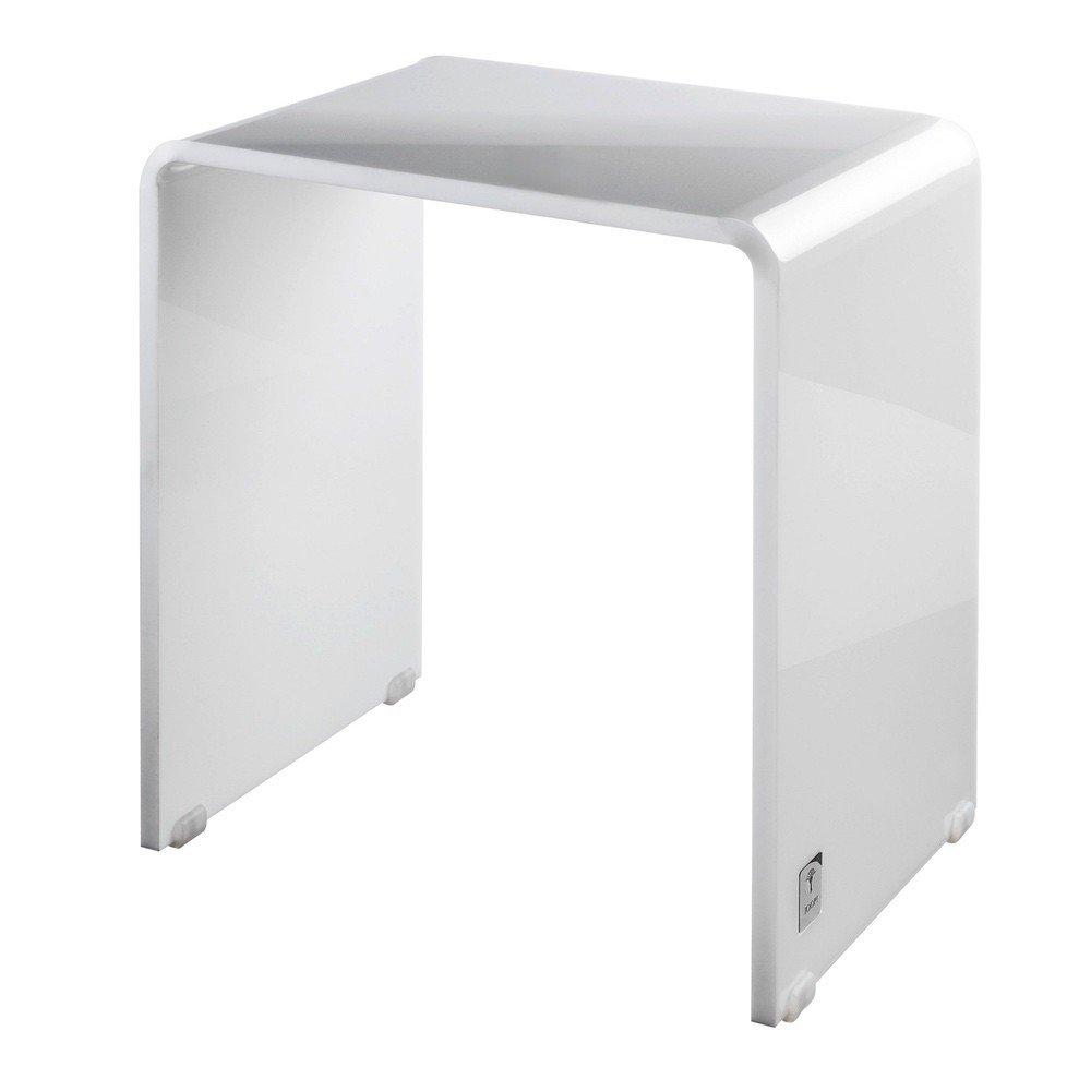 Duschhocker acryl  Joop! Lifestyle Duschhocker Weiß - Größe: 42 x 42 cm: Amazon.de ...