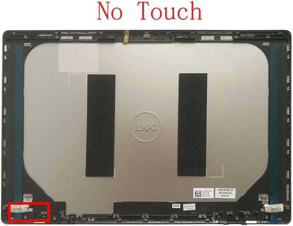 Sliver No Touch 0GTGW1 460.0CM05.0022 Laptop Replacement LCD Top Cover Case Fit Dell Inspiron 15D 7000 7570 A Shell