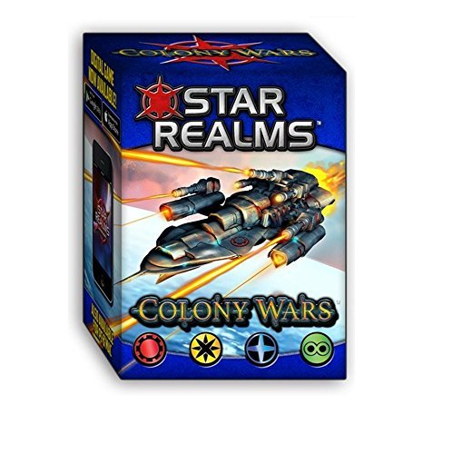 White Wizard Games Colony Wars Star Realms Deck Building Game by White Wizard Games