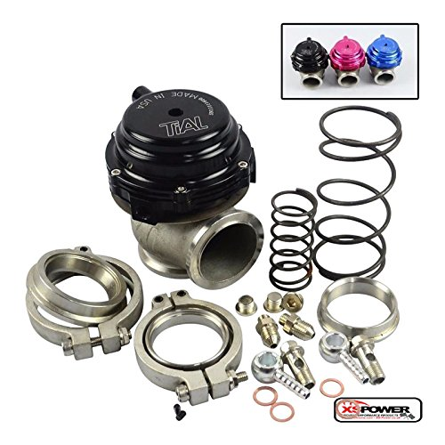 44 mm External Water Cooled WASTEGATE replaces Tial V44 and similar XS-Power