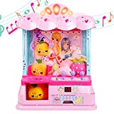 real mini claw machine - Gili Electronic Claw Toy for Girls Age 6, 7, 8, 9| Grabber Machine Home Arcade Crane Game for Carnival Party Features Lights & Sounds| Ideal Birthday Gifts for Girls