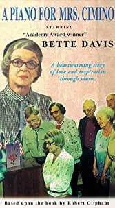 Piano for Mrs. Cimino [VHS]