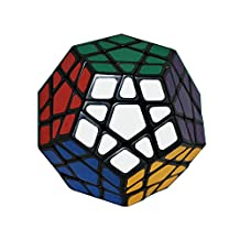 I-xun® Perfect Magic Cube Smooth Dodecahedron Cube Megaminx Cube Black (3x3)