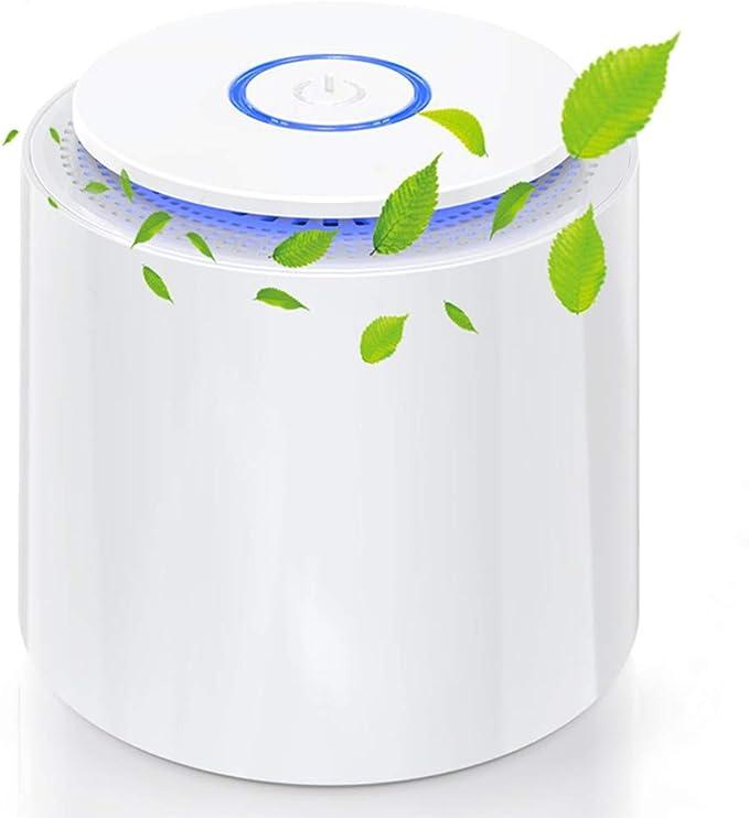 Purificador de Aire Portátil, Mini Filtro de aire USB con Filtro ...