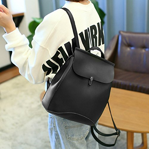 Anne - Bolso mochila  de Material Sintético para mujer negro negro marrón