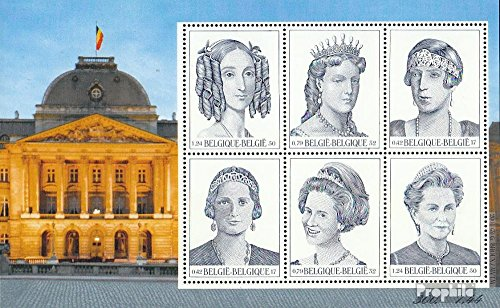 Belgium block79 (Complete.Issue.) 2001 Queens (Stamps for Collectors)