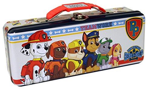 (The Tin Box Company Paw Patrol Pencil Box, Multicolor, Standard)