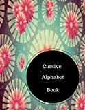 Cursive Alphabet Book: Learn To Write In Cursive. Large 8.5 in by 11 in Notebook Journal . A B C in Uppercase &  Lower Case. Dotted, With Arrows And Plain