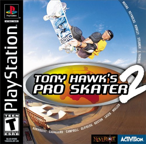Image result for Tony Hawk's Pro Skater 2