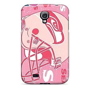 Excellent Design Seattle Seahawks Phone Case For Galaxy S4 Premium Tpu Case