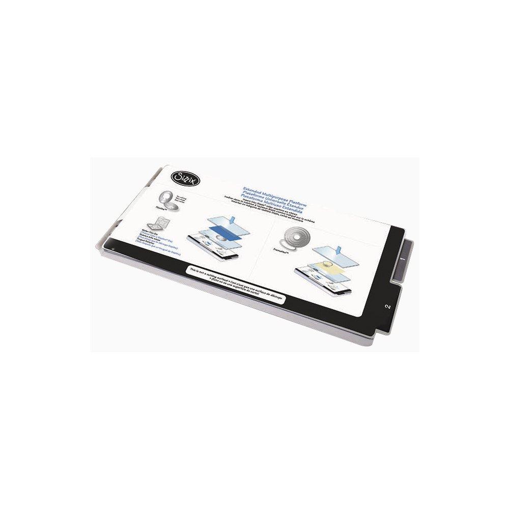 Blockwallah 57753000 Sizzix Multipurpose Platform Extended, 1 pezzi, plastica, nessuna FARBA Gabe, 38.7 x 16.2 x 1.6 cm 1pezzi 38.7x 16.2x 1.6cm Rayher Hobby GmbH