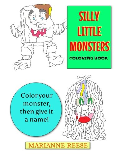 Silly Little Monsters: Coloring Book]()