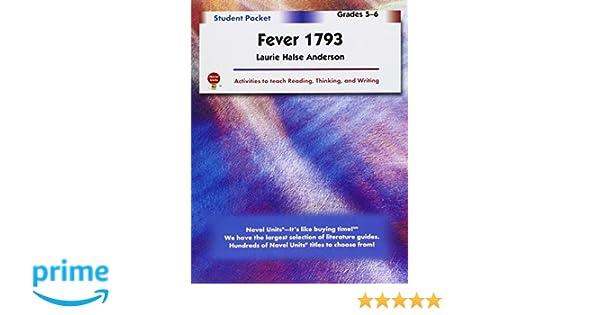 Fever 1793 student packet by novel units inc novel units inc fever 1793 student packet by novel units inc novel units inc 9781581308952 amazon books fandeluxe Images