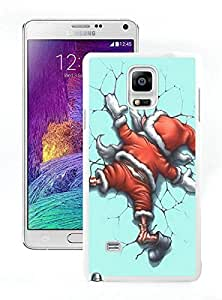 Personalization Amazing Funny Christmas White Samsung Galaxy Note 4 Case 1 by lolosakes
