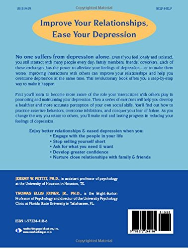 The Interpersonal Solution to Depression: A Workbook for Changing ...
