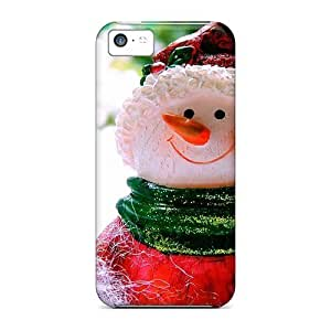 For Iphone Cases, High Quality Graceful Snowman For Iphone 5c Covers Cases