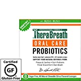 TheraBreath – Oral Care Probiotics – Dentist Formulated – Fights Plaque & Tartar – Reduces Oral Sensitivity – Fights Bad Breath – Restores Healthy Gums – 8 Lozenges