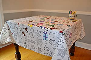 Amazon.com: The Coloring Table - Colorable Holiday ...