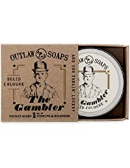 The Gambler Solid Cologne: Smells like Bourbon, Tobacco, and Leather - 1 oz - Men's or Women's Cologne