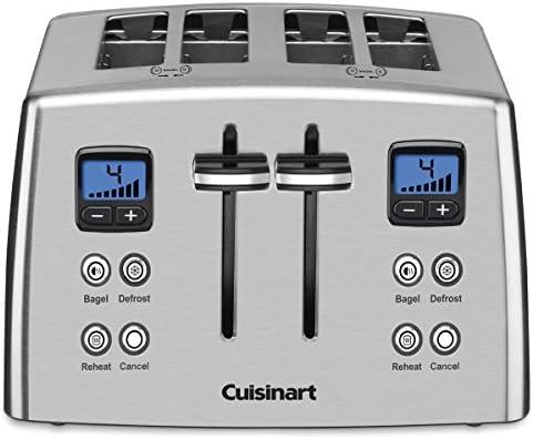 Cuisinart CPT-435C 4-Slice Countdown Metal Toaster – Stainless Steel