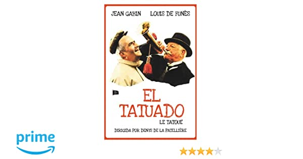 El Tatuado [DVD]: Amazon.es: Jean Gabin, Louis de Funès, Paul ...