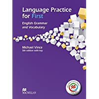 Language Practice for First - Student's Book with MPO and Key: English Grammar and Vocabulary.5th edition (2014)