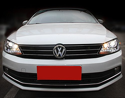 GOWE Car Styling For vw jetta headlights For VW jetta MK6 head lamps with LED guide car styling bi xenon lens parking Color Temperature:6000K;Wattage:35K 4