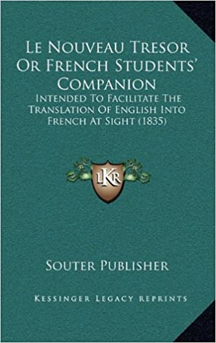 Le Nouveau Tresor Or French Students Companion Intended To