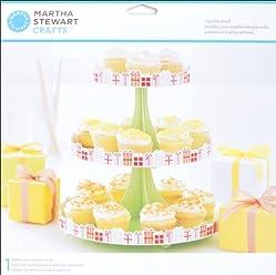 Martha Stewart Crafts EK Success Modern Festive Cupcake Stand