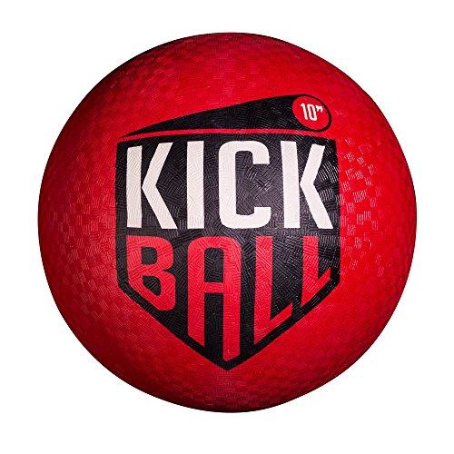 Kickball Set (Franklin Sports Rubber Kickball, 10