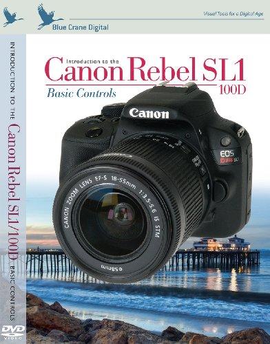Introducción de Blue Crane Digital a Canon Rebel SL1 / 100D con controles básicos (zBC155)