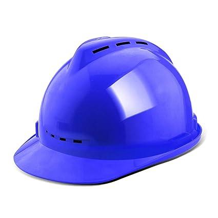 HJL Casco de Seguridad Construcción Construcción Ingeniería de construcción ABS Seguro Laboral Casco Respirable de Verano
