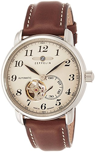 Led watch LZ127 Graf Zeppelin Ivory dial automatic winding 76665 Men's [regular imported goods]